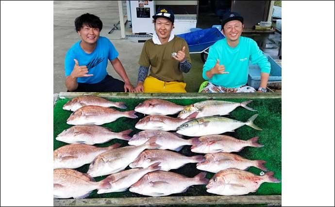 【三重・愛知】海上釣り堀最新釣果 グループで迫力の豪華釣果を達成