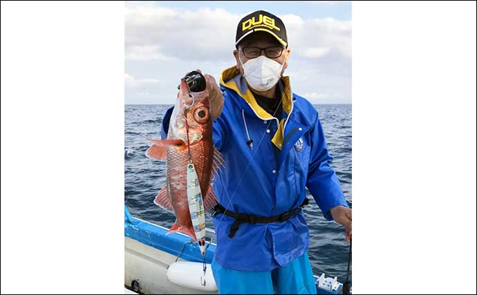 釣り人的「食品ロス」削減レシピ:アカムツの炙り寿司と茶碗蒸し