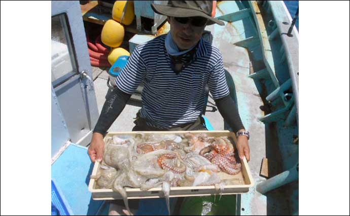 【愛知・三重】沖のエサ釣り最新釣果 マダカにシロギス数釣り好機
