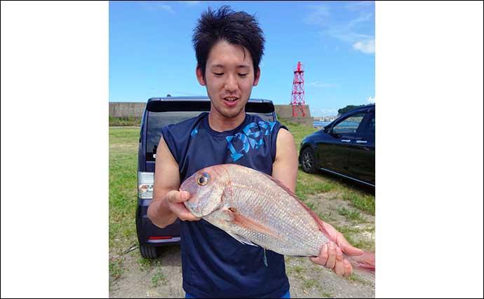 【愛知】オフショアルアー最新釣果 ジギングで良型青物やマダイ上向き