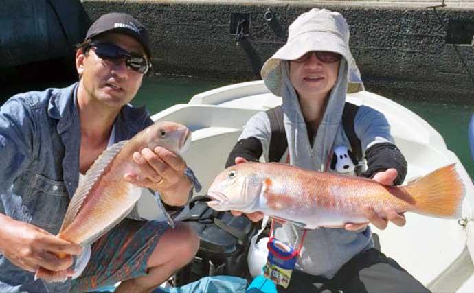 【三重・静岡】沖のルアー最新釣果 ジギングで10kg級カンパチや本ガツオ