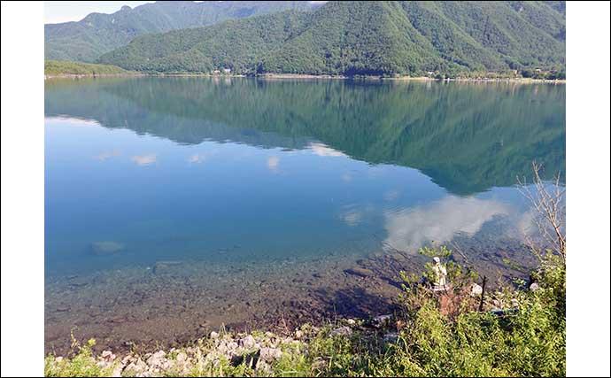 今週のヘラブナ推薦釣り場【山梨県・西湖】