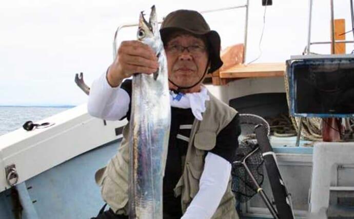 【大分・熊本】沖釣り最新釣果 ドラゴン級タチウオに1kg超ジャンボイサキ
