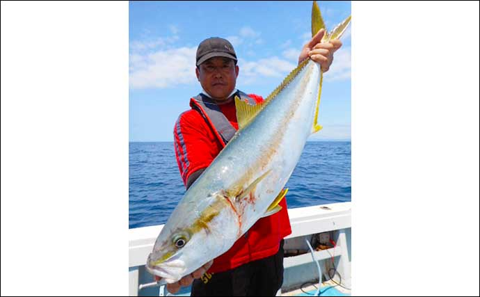 【福岡】沖のエサ釣り最新釣果 イカ泳がせ釣りで30kg大型アラ堂々参上