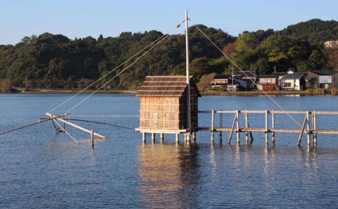 岡山の伝統漁法『四手網(よつであみ)』が最盛期 一般人の体験も可能