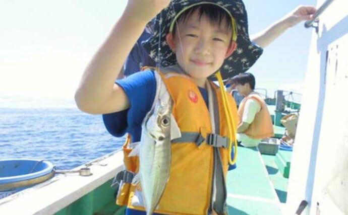 週末ナニ釣れた?沖釣り速報:アジにイサキに数釣り好調【関東】