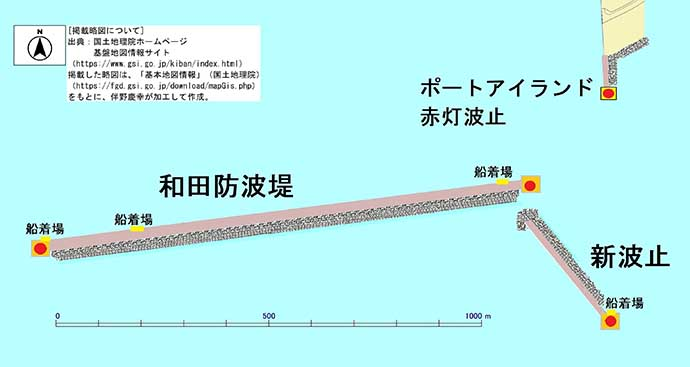 落とし込み釣りで33cmサンバソウの強引堪能【兵庫・和田防沖新波止】
