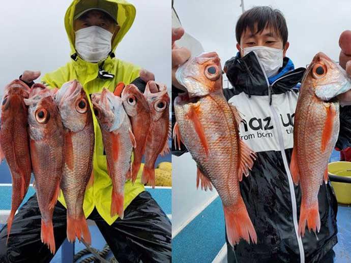 週末ナニ釣れた?沖釣り速報:茨城のアカムツ船で本命続々【関東】