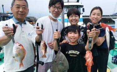 昨日ナニ釣れた?沖釣り速報:ショート便で手軽に土産をゲット【関東】