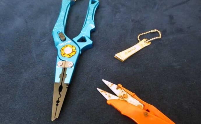 あると便利な釣行ツール:PEラインカッター 代表的3タイプの特徴