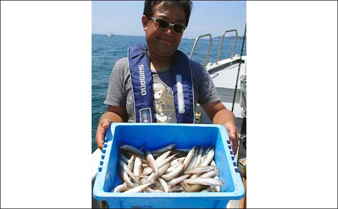 【愛知・三重】沖のエサ釣り最新釣果 船キス釣り絶好調で3ケタ爆釣も