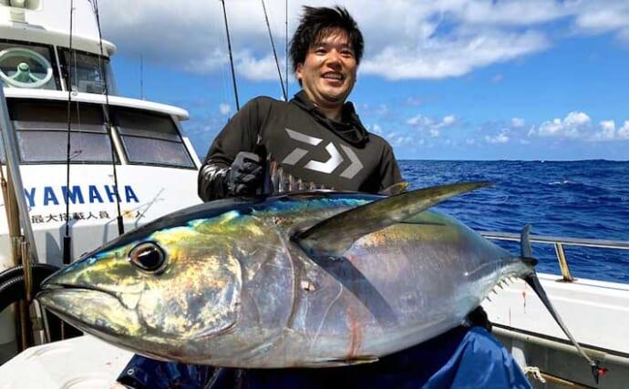【三重】オフショアルアー最新釣果 ジギングで51kgメバチマグロ浮上