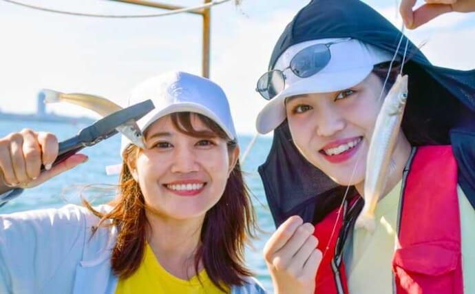 愛知の釣りファン集うイベントが開催 釣り堀と船釣りをリレーで満喫