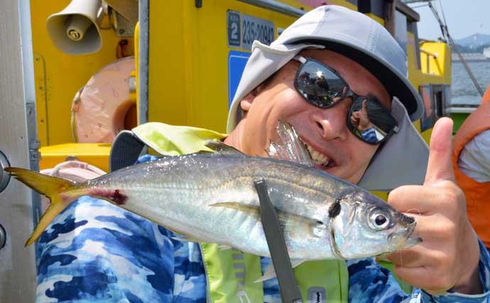 FMヨコハマ「ザバーン」に同行実釣取材 東京湾LTアジ釣りを堪能