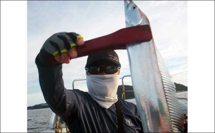 【福岡】沖釣り最新釣果 落とし込み&イカ泳がせで良型アラなど好土産