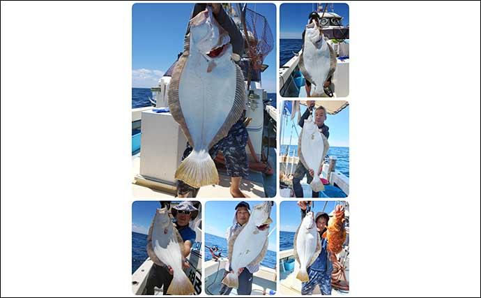 【響灘】沖釣り最新釣果 SLJで48.5cm頭に大型イサキ続々顔出し
