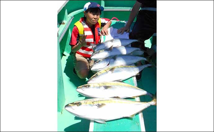 『東京湾ワラサ釣り』開幕 豪快な引きが病みつきに【神奈川・剣崎沖】