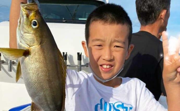 【大分・熊本】沖釣り最新釣果 40〜50cm良型イサキが好ヒット中