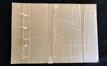 釣り人的『スーパーライトDIY(SLD)』:サビキ仕掛け巻 釣りゴミ減少にも