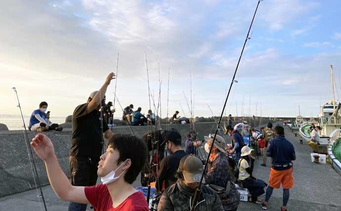 初挑戦の『ライブベイト』船でカツオ&キメジ レンタルタックルで手中