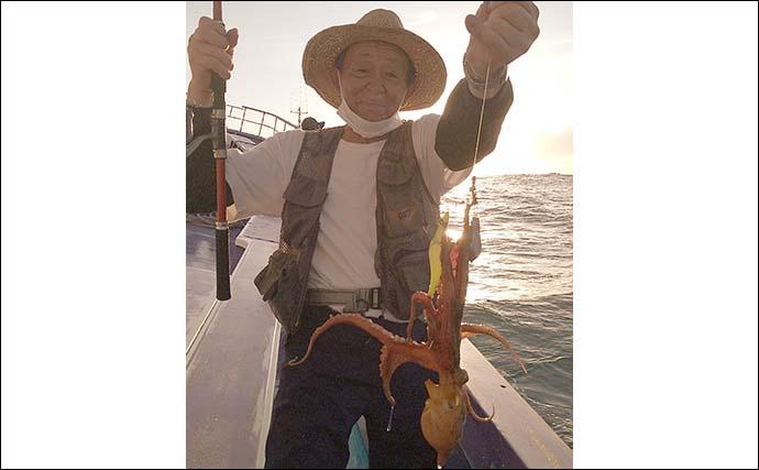 外房大原でエギタコ絶好調 基本の釣り方と持ち帰り方を解説【千葉】