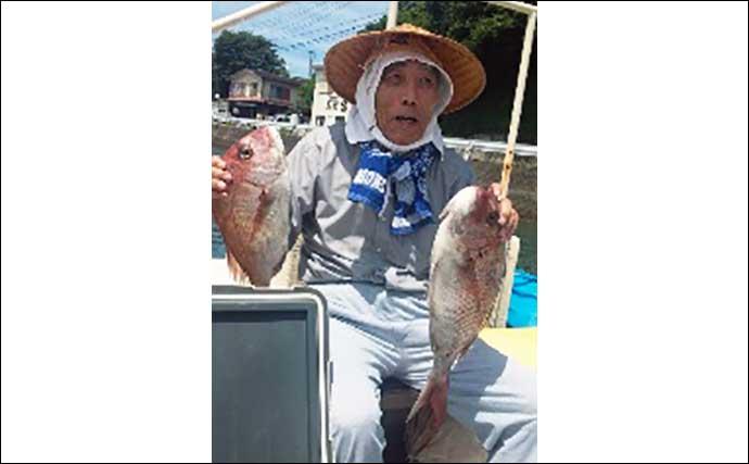 【三重】沖釣り最新釣果 ハタゲームで50cm級オオモンハタ続々浮上