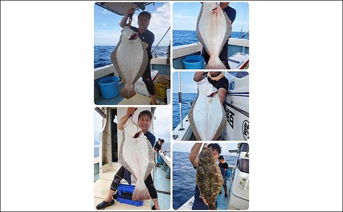 【響灘】沖釣り最新釣果 女性アングラーが20kg大型アラをキャッチ