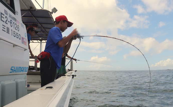 『タテ釣り』ハイシーズン到来 マダイにヒラメに青物と良型乱舞