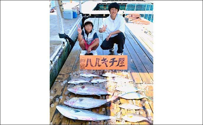 【愛知・三重】イカダ&海上釣り堀最新釣果 メガ&ブランドマダイ快釣