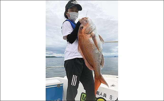 【大分・熊本】沖釣り最新釣果 ボートタイラバゲームで70cm大ダイ浮上