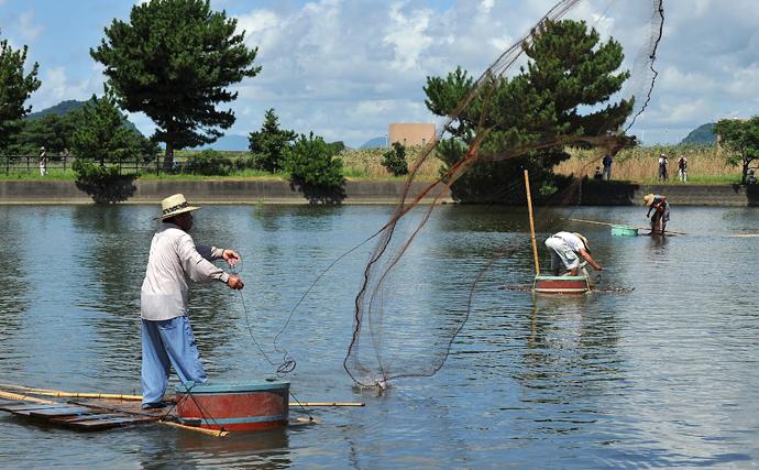 鹿児島で伝統漁「はんぎり出し」が実施 ターゲットの「エッナ」とは?