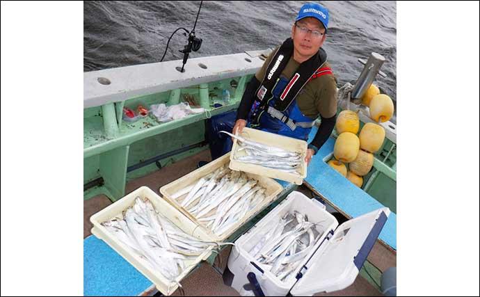 沖のエサ釣り最新釣果 夏カワハギ便で大型「31cm」浮上【愛知】