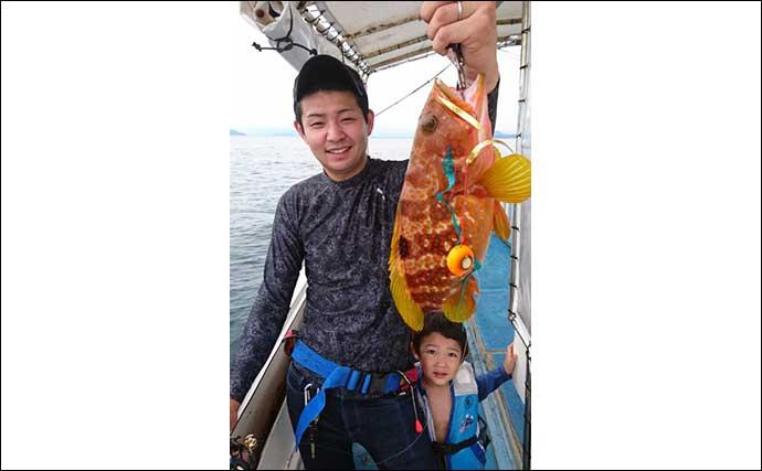 【福岡・長崎】沖のルアー釣り最新釣果 電動ジギングで中学生がヒラマサ