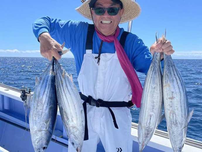 昨日ナニ釣れた?沖釣り速報:相模湾で良型カツオ開幕ラッシュ【関東】
