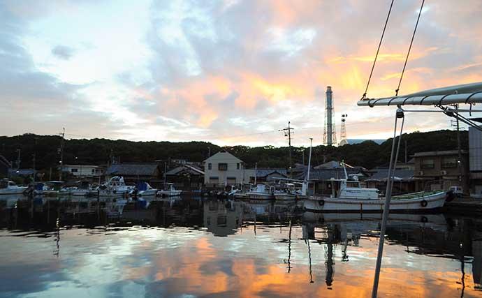大阪湾テンヤタチウオ釣りシーズン開幕 良型交じりで好調【瑞宝丸】