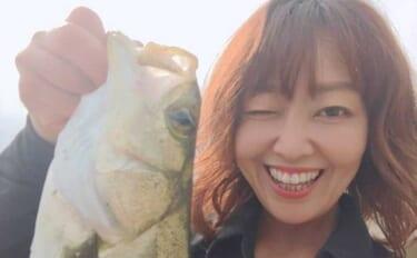陸っぱりルアーゲームでセイゴ&チヌ 流れの「ヨレ」狙いが奏功【淡路島】