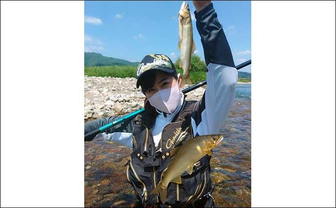 晩夏のアユ友釣りは大型にロックオン 尺アユ攻略のノウハウを紹介