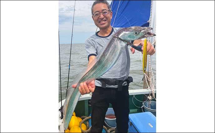 【大分・熊本】沖釣り最新釣果 タチウオは良型含みで数釣りの期待大
