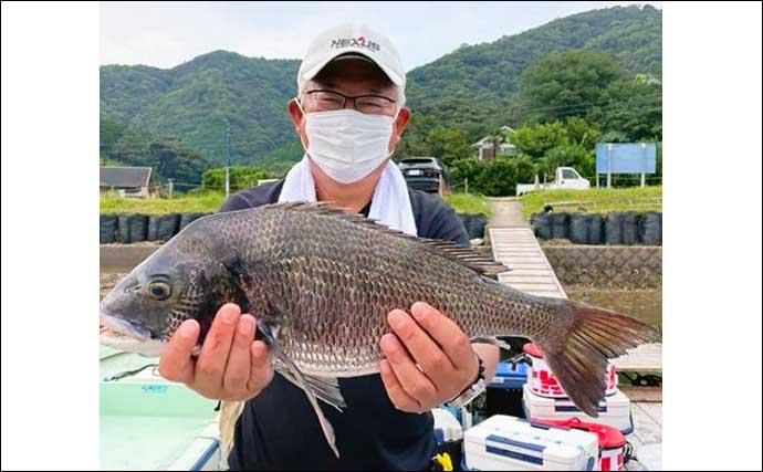 【三重】イカダ釣り最新釣果 良型クロダイ堅調の他マダイも顔見せ