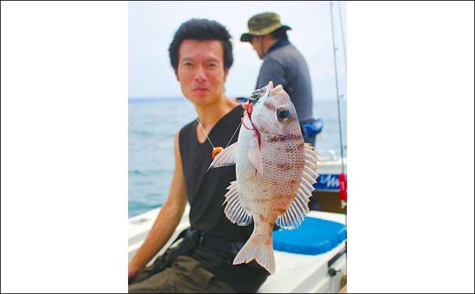 SLJ&タイラバゲーム熱中 4.5kgカツオに50cm級キジハタなど魚種多彩