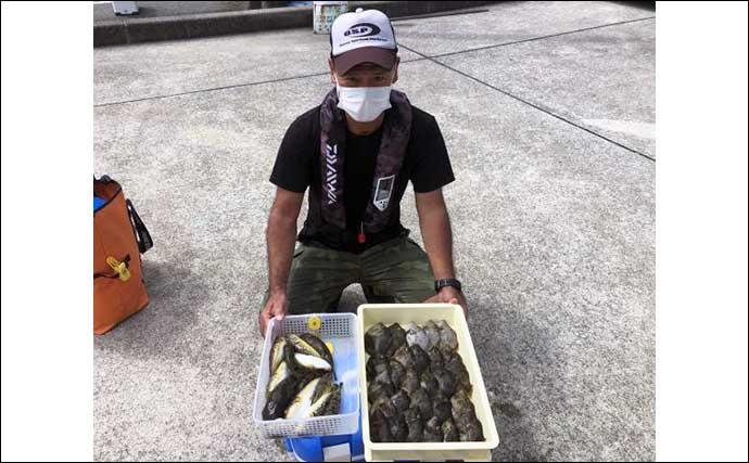 【愛知・三重】沖のエサ釣り最新釣果 開幕直後の『ウタセ五目』が好調