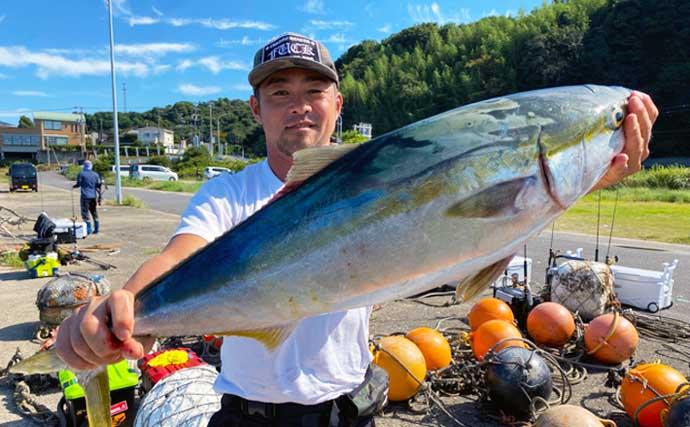 【三重・愛知】沖のルアー最新釣果 ジギングでブリにSLJでシロアマダイ