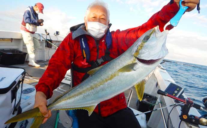 落とし込み釣りで大型青物乱舞 メーター級ヒラマサにブリにカンパチも