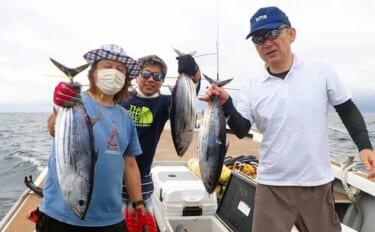【福岡・長崎】沖のルアー最新釣果 キャスティングでマグロ&カツオ快釣