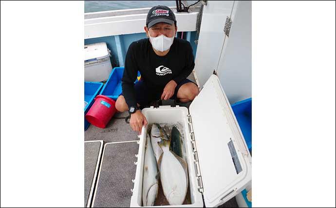 【福岡】落とし込み最新釣果 4〜5kg級ヒラマサ&ブリが続々お目見え