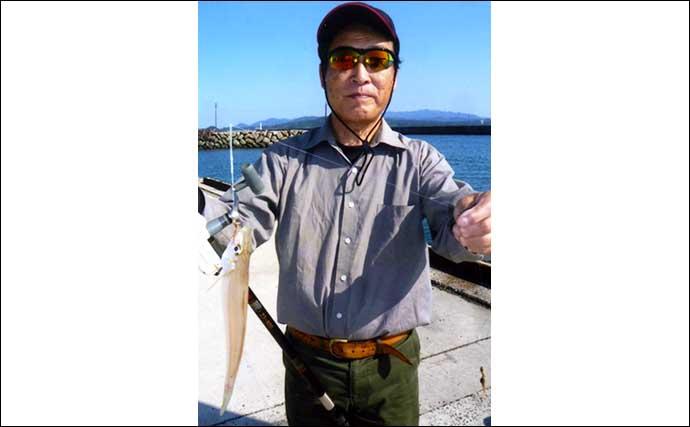 波止で楽しむファミリーフィッシング 多彩な釣果でクーラー満タン