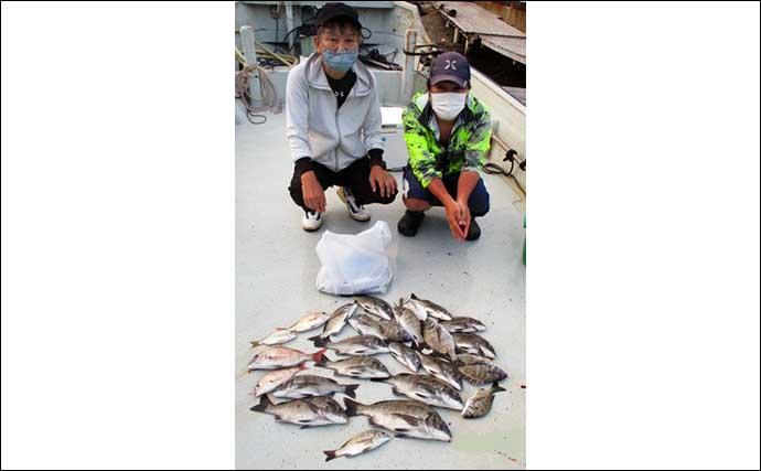 【三重】カカリ釣り最新釣果 アジ泳がせで想定外53cmチャイロマルハタ