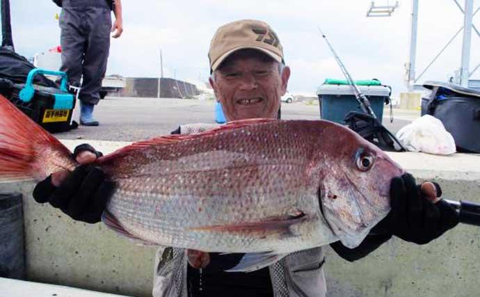 【大分・熊本】沖釣り最新釣果 「ドラゴンサイズ」タチウオ各地で顔出し