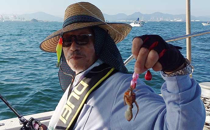 香川沖でイイダコ釣りが開幕 初戦の釣果から占う今期の調子は渋め?