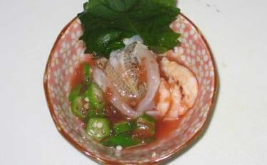 【釣魚レシピ】夏野菜と一緒に食す「キスの酢の物」 残暑に嬉しい一品